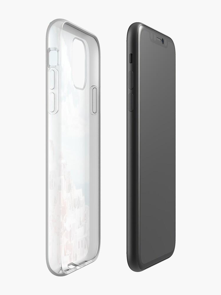 Alternate view of Santorini Oia Greece iPhone Case & Cover