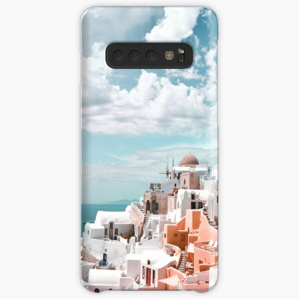 Santorini Oia Greece Samsung Galaxy Snap Case