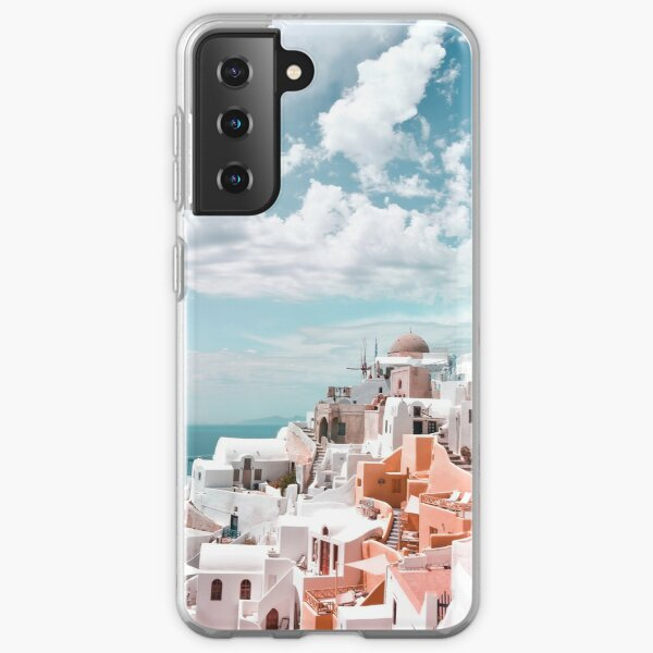Santorini Oia Greece Samsung Galaxy Soft Case