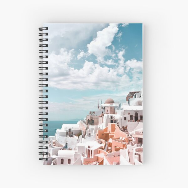 Santorini Oia Greece Spiral Notebook