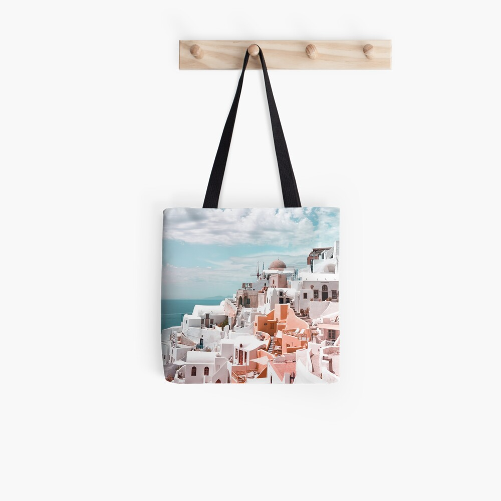 Santorini Oia Greece Tote Bag