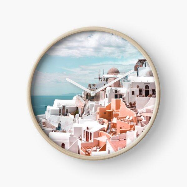 la isla en forma de media luna Reloj