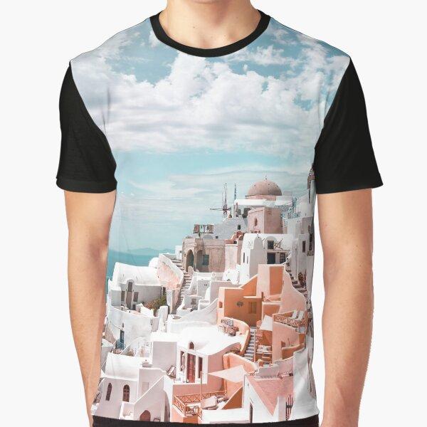 Santorini Oia Greece Graphic T-Shirt