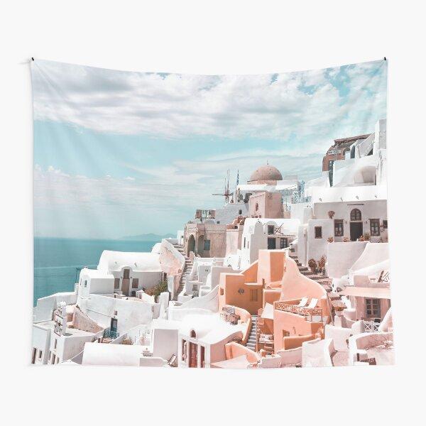 Santorini Oia Greece Tapestry