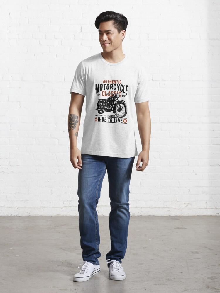 Alternative Ansicht von Motorcycle Classic Essential T-Shirt