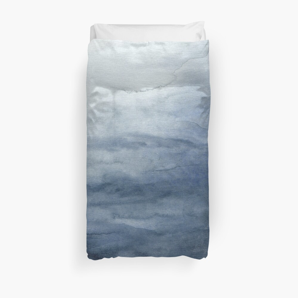 Indigo Abstract Painting | No.2 Duvet Cover