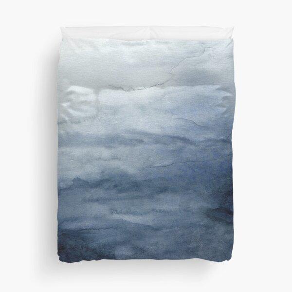 Indigo Abstract Painting   No.2 Duvet Cover