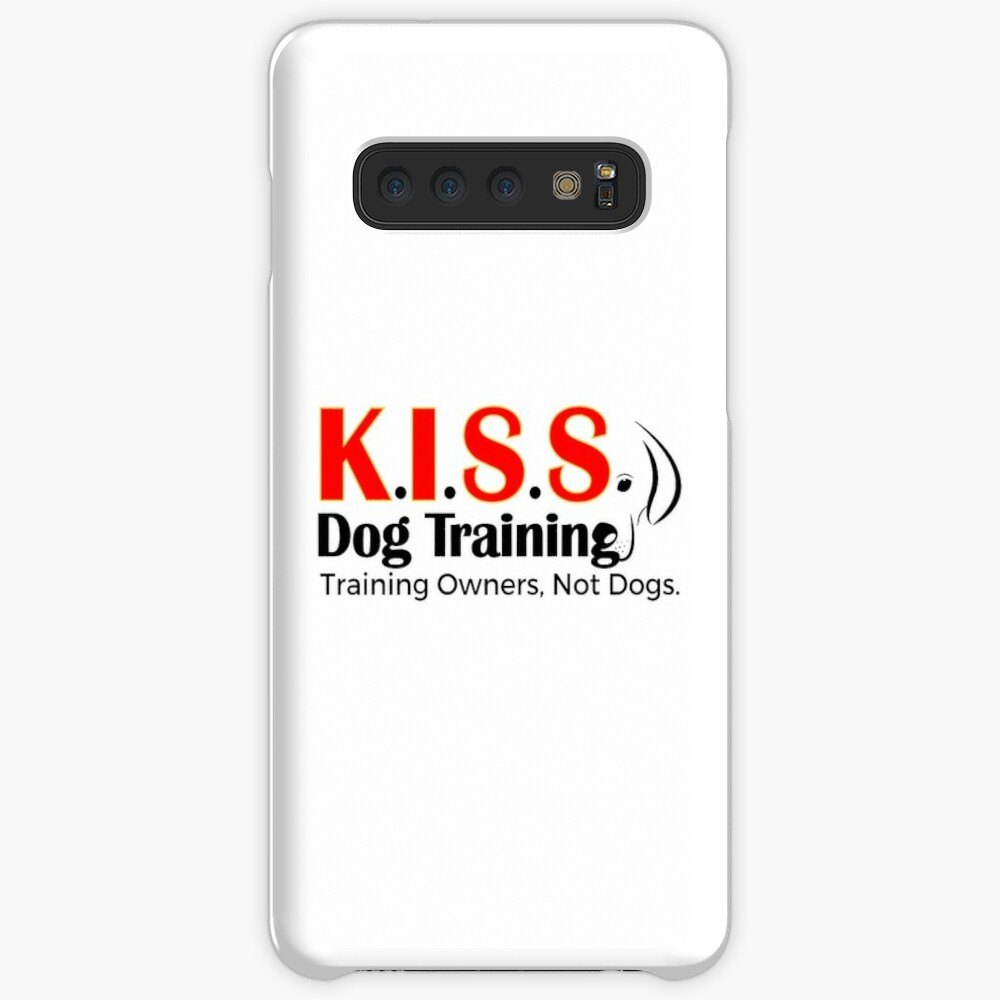 New Logo No Phone Number (Black Lettering) Case & Skin for Samsung Galaxy