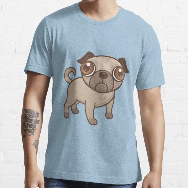 Pug Puppy Cartoon Essential T-Shirt