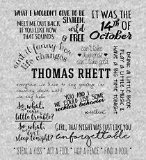 thomas rhett life changes album lyrics Kids Pullover Hoodie