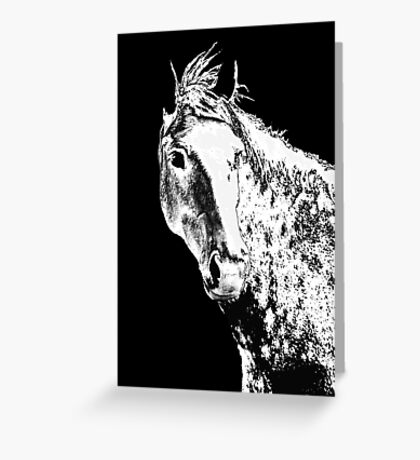 Silver Dreams Greeting Card