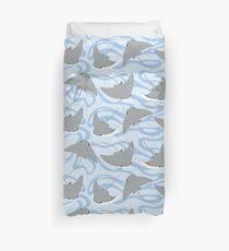 Stingrays - Cownose Ray - Sticker Pack Duvet Cover