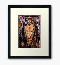 Senior Wolf Framed Print