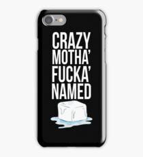 Ice Cube White iPhone Case/Skin