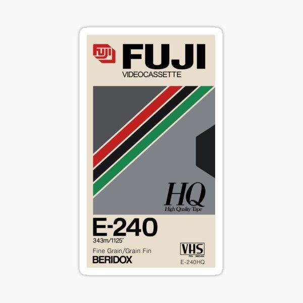 VHS Fuji E-240 HQ Sticker