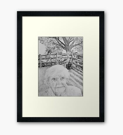The Centurian 1908-2010 Framed Print