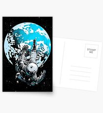 The Lost Astronaut Postcards