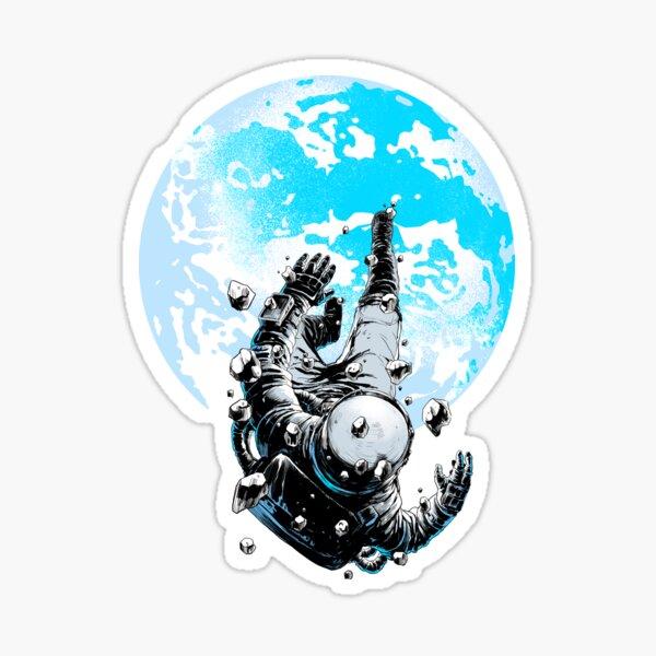The Lost Astronaut Sticker