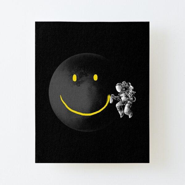 Make a Smile Canvas Mounted Print