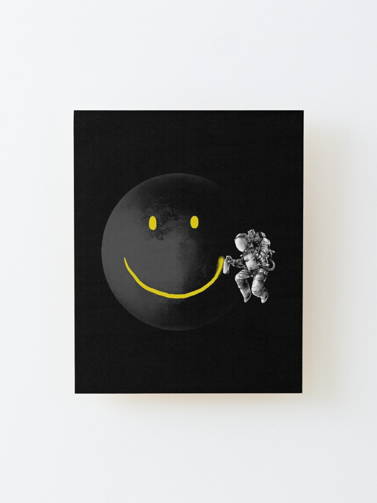 Alternate view of Make a Smile Mounted Print