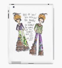 Boo To You! iPad Case/Skin