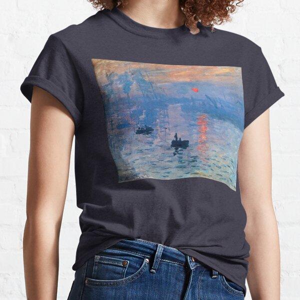 CLAUDE MONET, Impression, Sunrise. Classic T-Shirt