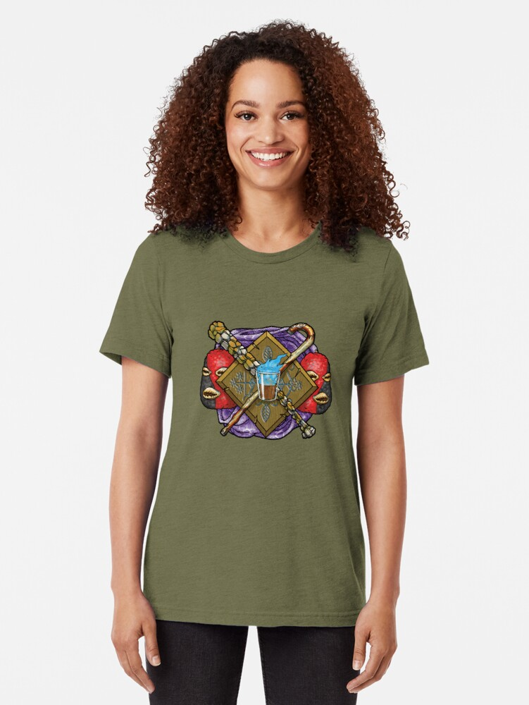 Alternate view of Scion Pantheon: Orisha Tri-blend T-Shirt