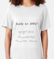 Ready to GAN? Slim Fit T-Shirt