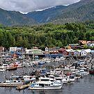 Ketchikan, Alaska Inside Passage Port of Call by Lanis Rossi