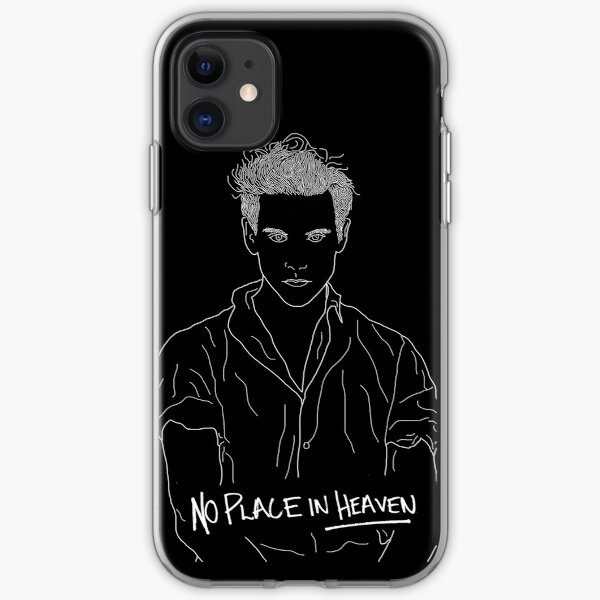 No Place In Heaven (Black) iPhone Soft Case