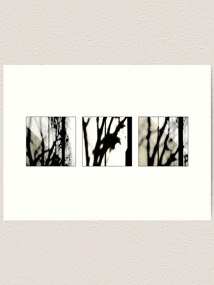 Alternate view of Waiting: Triptych Art Print