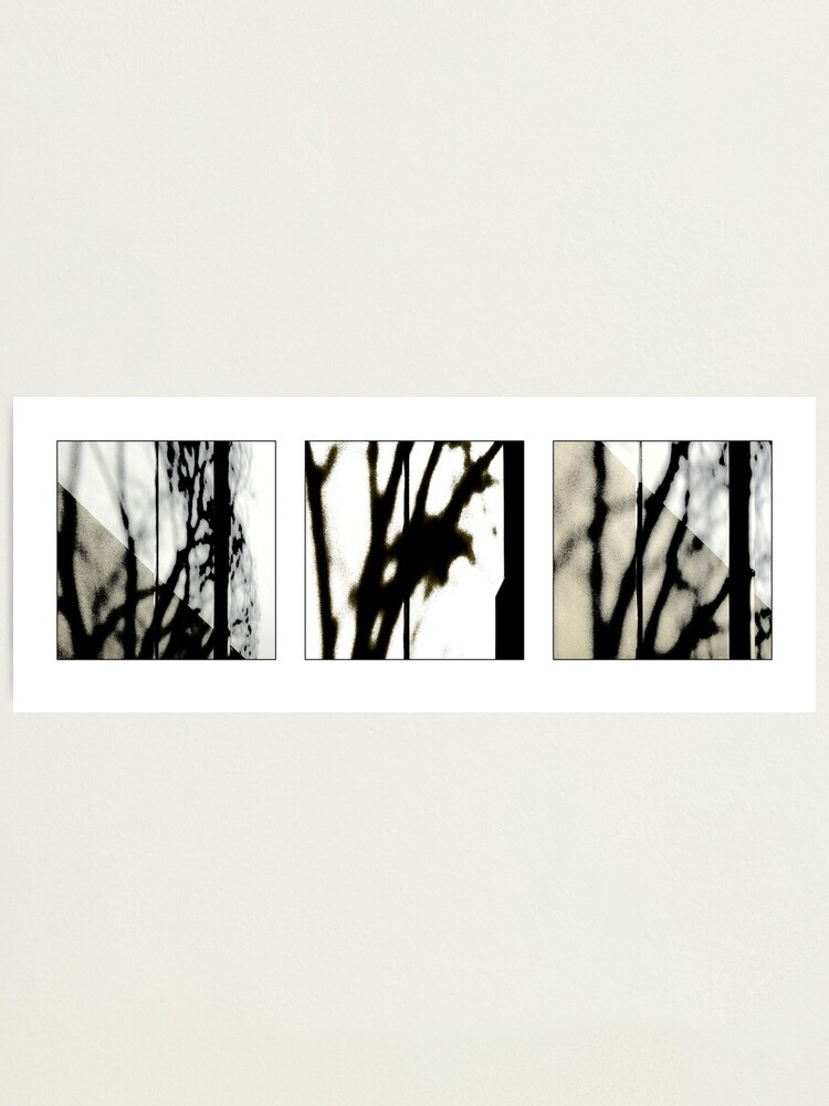 Alternate view of Waiting: Triptych Photographic Print