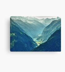 The Valley Leinwanddruck