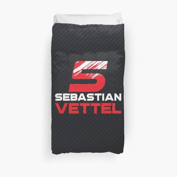 Sebastian Vettel 5 v3 Duvet Cover