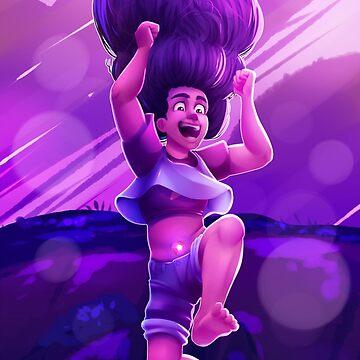 Stevonnie JUMP! by prpldragon