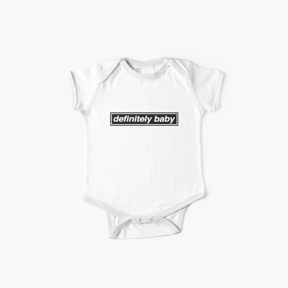 Definitiv Baby - OASIS Band Tribut Baby Body