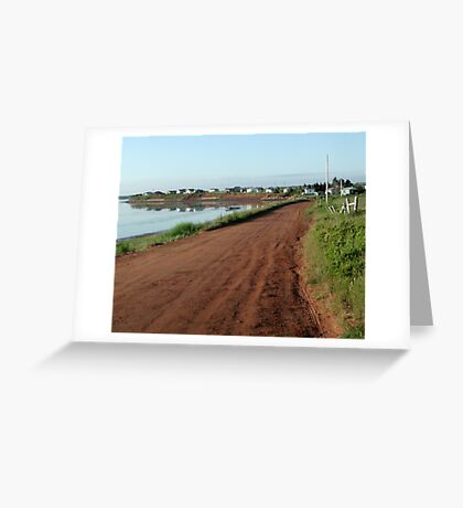 Red Clay Road Greeting Card