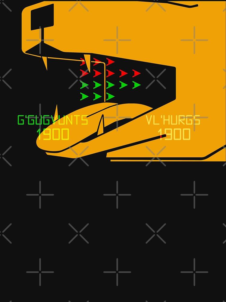 NDVH G'Gugvunts vs Vl'Hurgs vs Dog 2 H2G2 by nikhorne