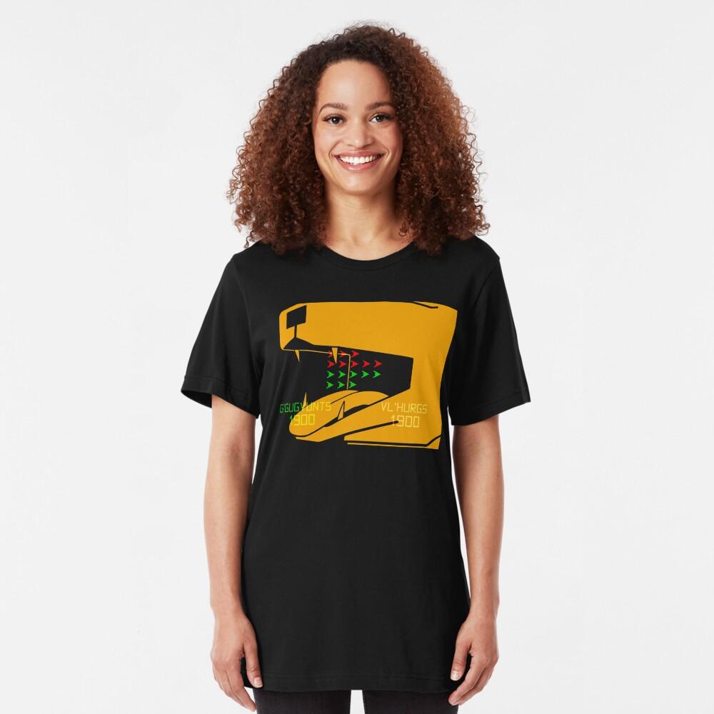NDVH G'Gugvunts vs Vl'Hurgs vs Dog 2 H2G2 Slim Fit T-Shirt