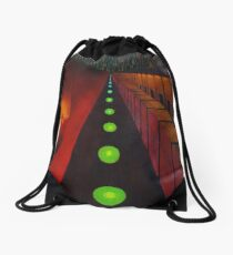 Lonely Night - Fine Art Painting Drawstring Bag