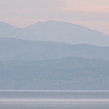 Looking towards Albania by dizzyg