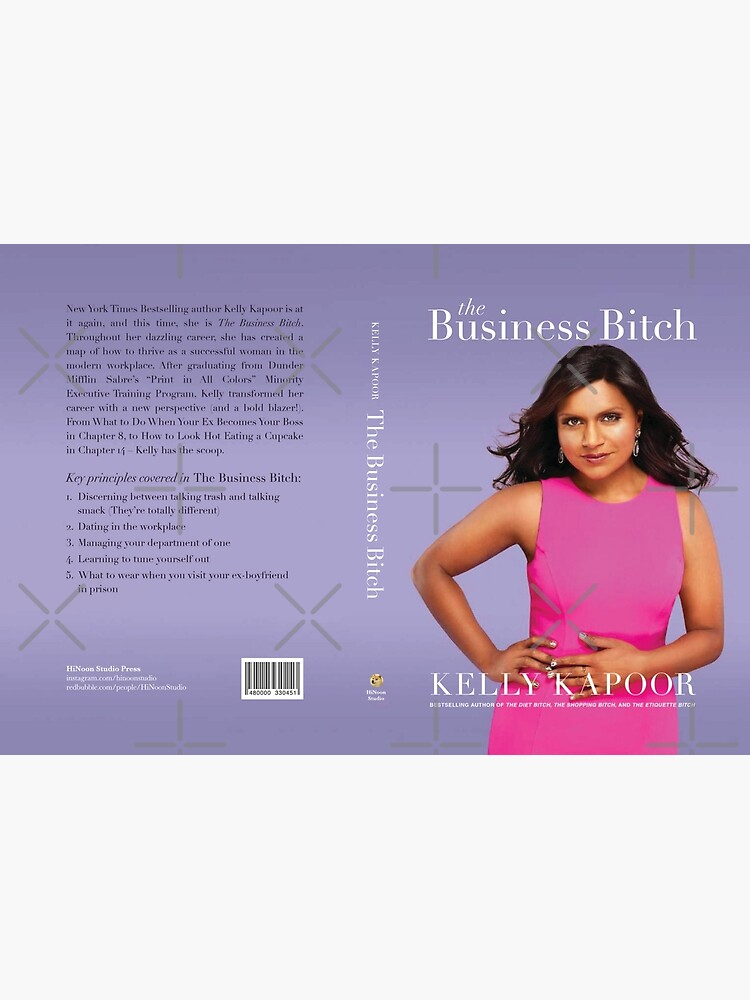 """Kelly Kapoor's """"The Business Bitch"""" by HiNoonStudio"""