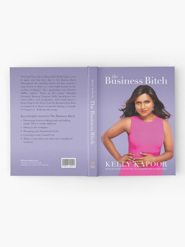 """Alternate view of Kelly Kapoor's """"The Business Bitch"""" Hardcover Journal"""