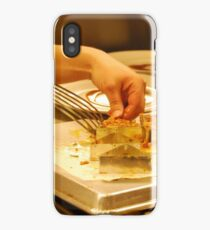 Culinary Competition - De-Molding If you like, purchase, try a cellphone cover thanks! iPhone Case/Skin