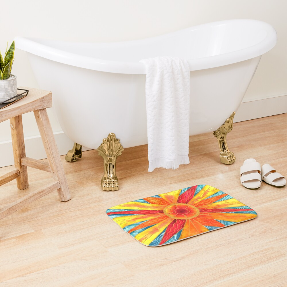 Sunburst Bath Mat