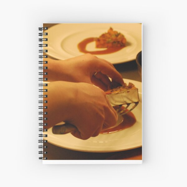 San Pellegrino Almost Famous Chef Competition 2c Spiral Notebook