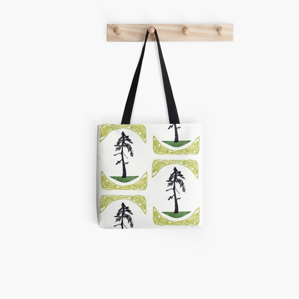 Proud Pine Tote Bag