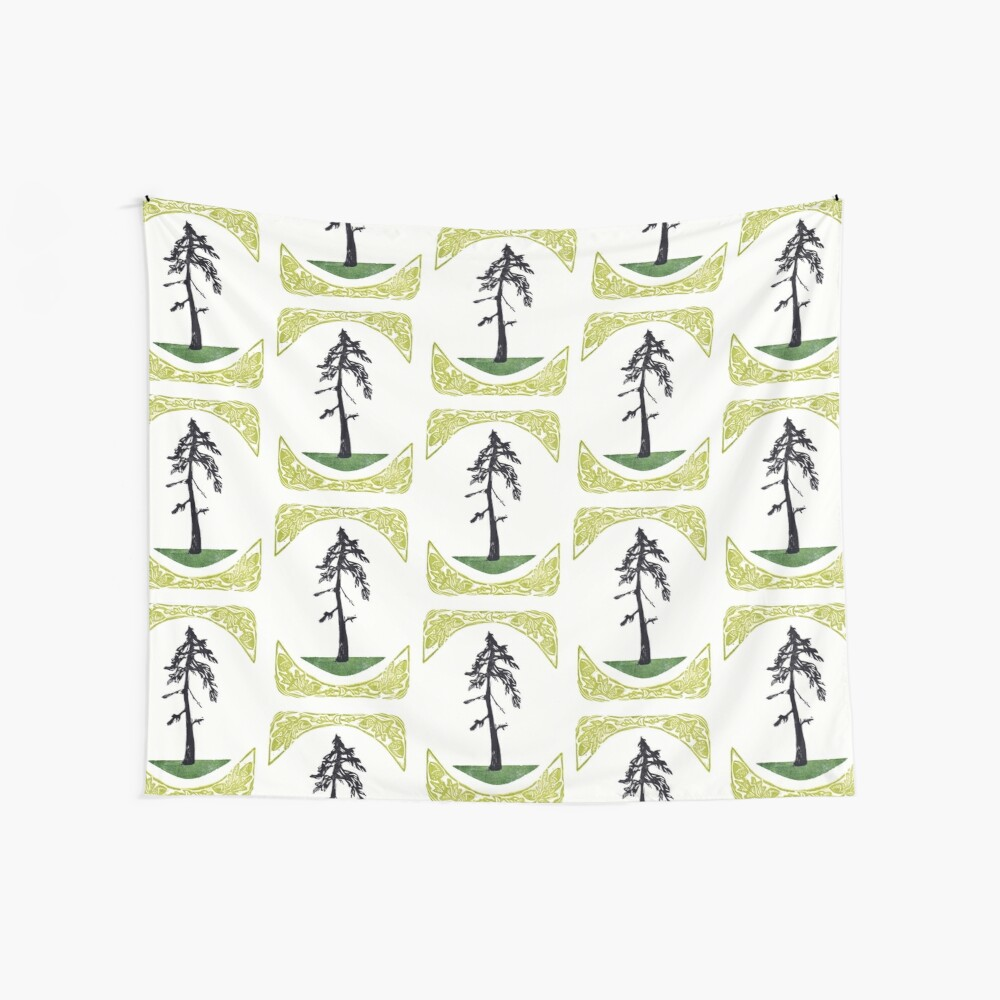 Proud Pine Wall Tapestry