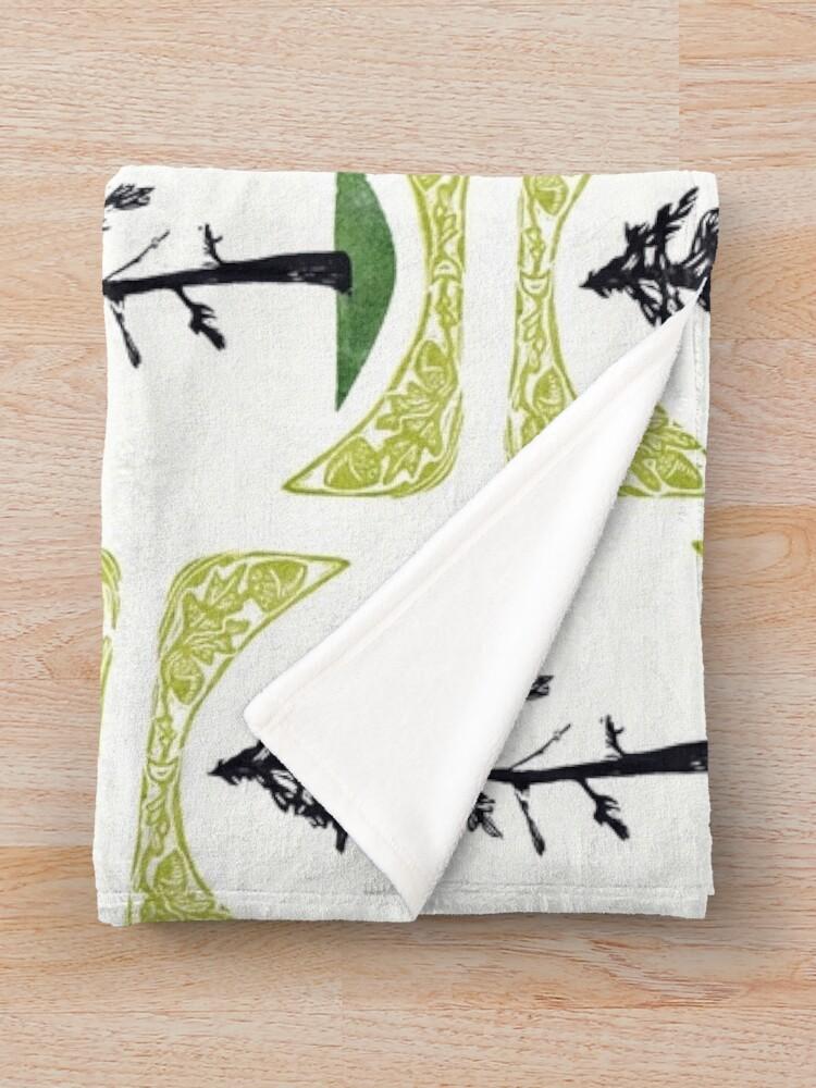 Alternate view of Proud Pine Throw Blanket