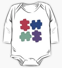 Puzzle Pieces One Piece - Long Sleeve